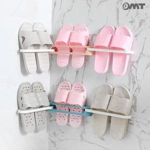 OMT 벽걸이 3단 접이식 신발장 정리대 OSO-T17