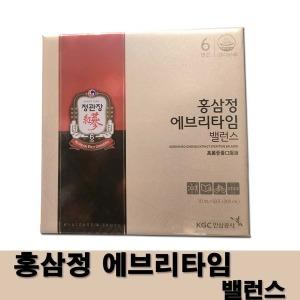 정관장 홍삼정 에브리타임 밸런스 10ml x 30포 쇼핑백