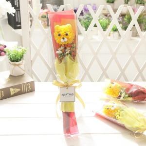 퐁퐁베어 꽃다발 재롱잔치 졸업식 발표회