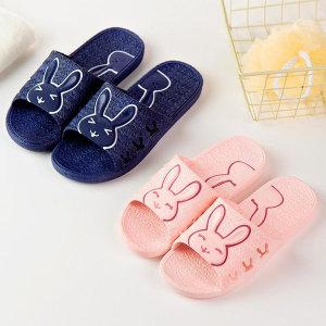 미끄럼방지 토끼 욕실화 화장실 욕실 슬리퍼 욕실신발