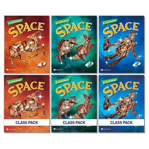 Grammar Space 그래머 스페이스 워크북 클래스 팩 1 2 3 어린이 영어 학습 책