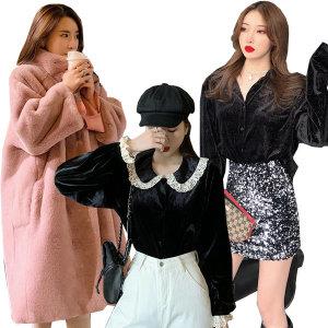 패션라인 봄블라우스 패딩/코트/양털자켓/벨벳
