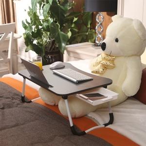 노트북 좌식 테이블 NT-5100 수납서랍 접이식테이블