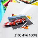 UB포토 사진인화지/인화지 210g 4x6 100매 광택인화지
