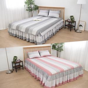 다양한 누빔 침대 커버 매트리스 침대스커트 침대패드