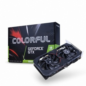 COLORFUL 지포스 GTX 1660 Gaming GT D5 6GB