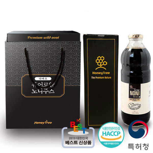 명절 선물 세트 노니주스 원액 발효 액기스 2병 두달분