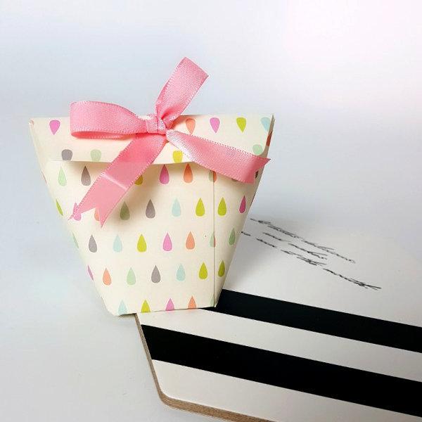 종이선물상자 미니선물상자 쿠키상자 미니박스 5ea