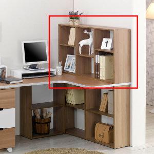 책상책장 상부책꽂이 책장 수납책장 2단책장 수납선반