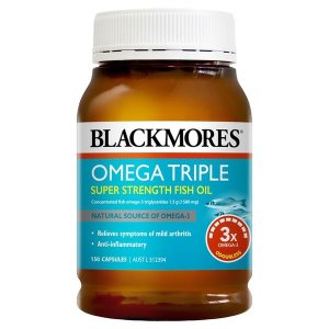 블랙모어스 오메가 트리플 피쉬오일 150캡슐