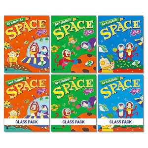 Grammar Space Kids 그래머 스페이스 키즈 워크북 클래스 팩 1 2 3