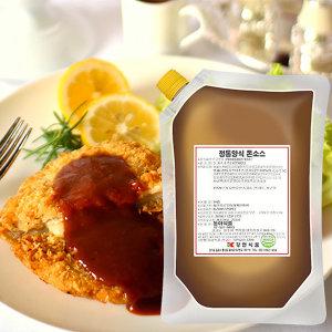 참소당 정통양식돈까스소스/1kg/1봉/양식 돈가스소스