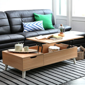 키높이 리프트업 테이블 소파테이블 거실테이블