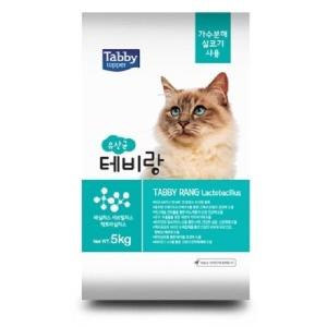 태비토퍼 테비랑 유산균5kg 고양이사료