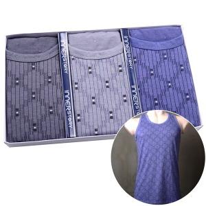 남성 런닝 세트 / 남자 나시 민소매 속옷 95~110 IS122