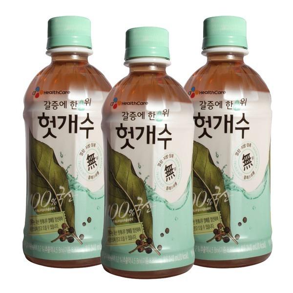 CJ 컨디션 헛개수 340ml x 20펫 / 헛개차 음료수