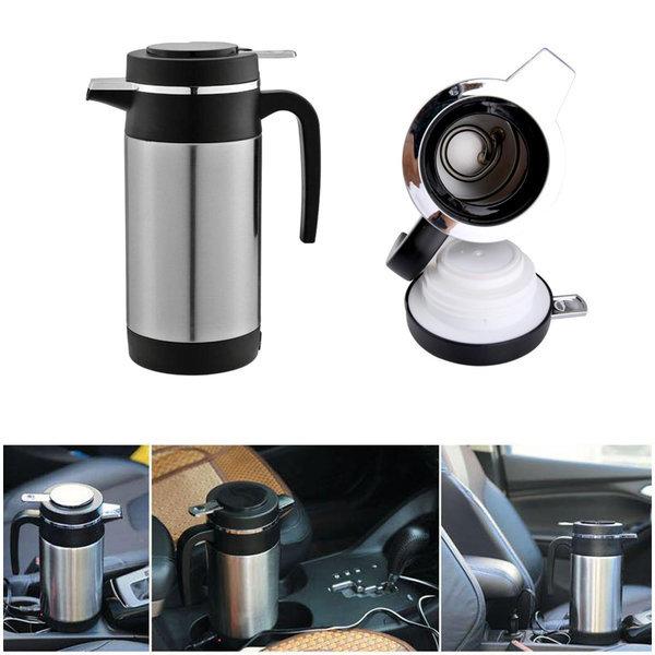 1리터 대용량 차량 커피 전기포트 카포트 12V 120w