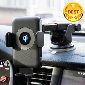 차량용 오토그랩 고속 무선충전기 거치 아이폰8 XS XR