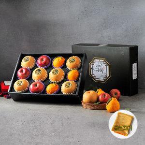철인 과일선물세트 1호 5kg(사과3 배6 한라봉3)