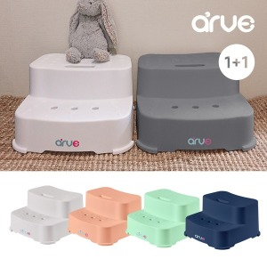 아르브 2단 유아 아기 욕실 발판 발 디딤대 1+1