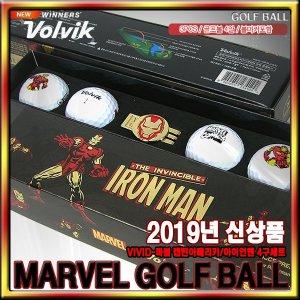 볼빅 2019년 NEW 볼빅 마블 아이언맨 캡틴아메리카 골프볼  3피스  정품