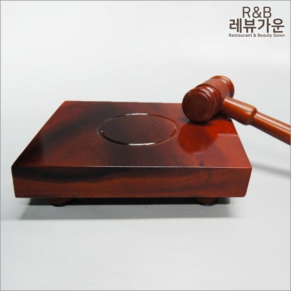 WH04 판사봉 의사봉 법봉 모의재판 주주총회 교구