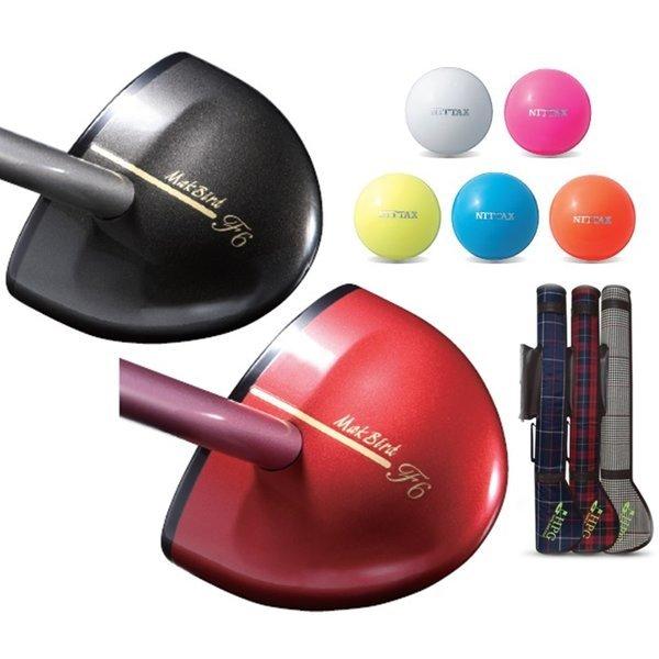 니탁스 파크골프 골프클럽 파크골프채 3종 일본정품