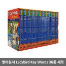 영어원서 Ladybird Key Words 36종 세트