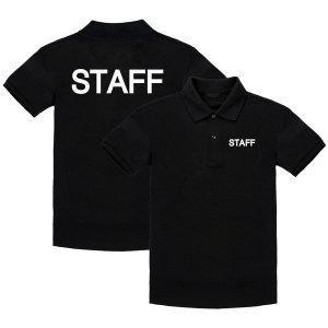STAFF PK카라 반팔티/스태프티/가게티/유니폼/단체티