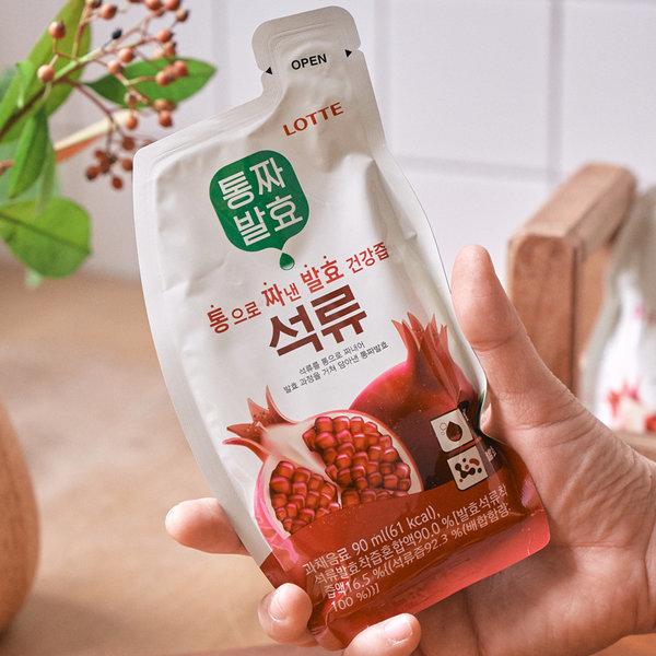 통짜발효 석류 30포 1BOX +쇼핑백