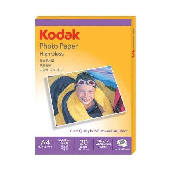 오피스디포  광택포토용지(180g A4 20매 4027-306 Kodak)