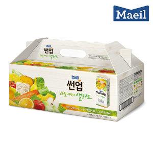 썬업 과일야채샐러드 녹황 200ML 24팩 선물세트