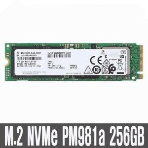 PM981a SSD NVMe 256GB 3D낸드 병행수입 HM