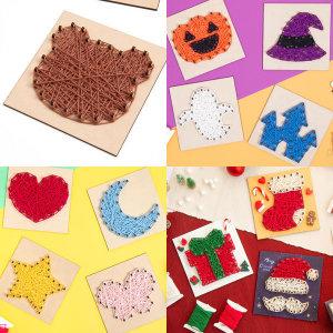 스트링아트 모음 / 나무액자 만들기재료 미술재료