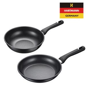 독일 하트만 블랙엣지 1+1세트 특가 팬28+궁중팬26