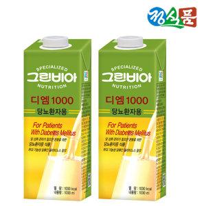 정식품 그린비아 디엠 1000mlx12팩 균형영양식품