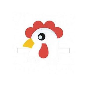 동물머리띠 닭 (펠트/연극/역할극놀이)