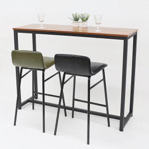 멀바우 바 테이블 홈바 아일랜드 식탁 카페 높은 책상