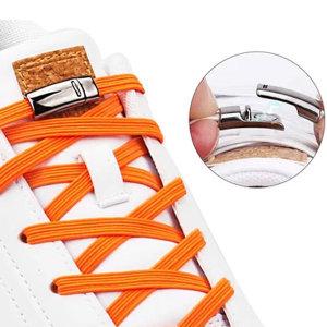 매듭없는 마그네틱 자석 신발끈 운동화끈 클립 고정