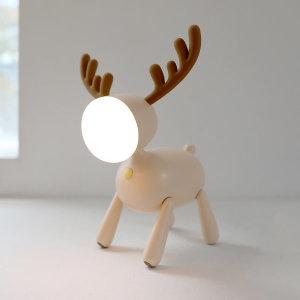 루돌프 LED 무드등 독서등 수유등 아이보리