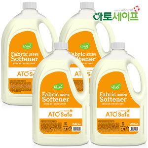 아토세이프 섬유유연제 (후리지아향 2.5L 4개)