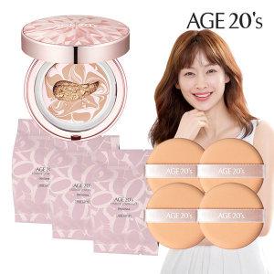 Age20S 다이아팩트케이스+리필3개+퍼프4개 21호