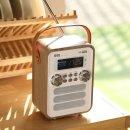아날로그 소형오디오 클래식 레트로 라디오