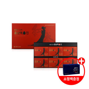 (서울약사신협) 6년근 고려 홍삼액 진 70mL x 30포(쇼핑백)