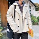 남자 무스탕 자켓 코트 아우터 겨울 점퍼 캐주얼 wf35