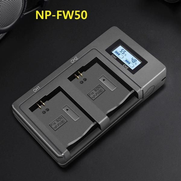 NP-FW50 NP-FH500H NP-F970 NP-FZ100 슈퍼고속 충전기