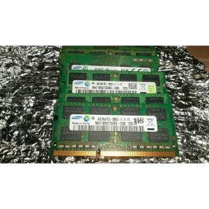 삼성전자 노트북용 DDR3 4GB RAM(PC3-12800) 양단면램