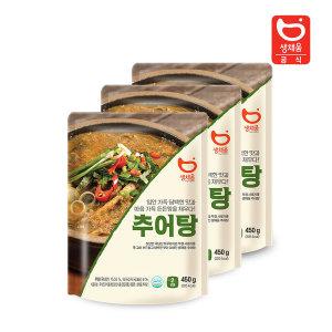 담백한맛 추어탕 450g(1-2인분) x 3팩 /즉석국/해장국