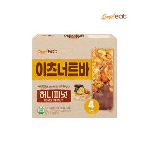 이츠너트바 허니피넛35g x 4입 /에너지바/초코바/간식