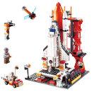 구디블럭 스페이스 우주왕복선 레고호환블록 장난감